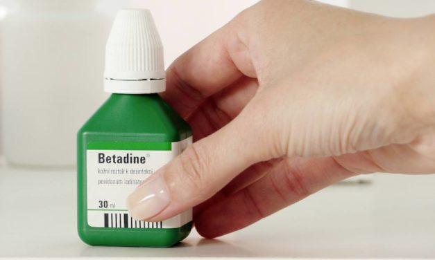 S přípravkem Betadine® ošetření rozbitého kolena nepálí!