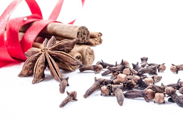 Chuť a vůně vánočního koření