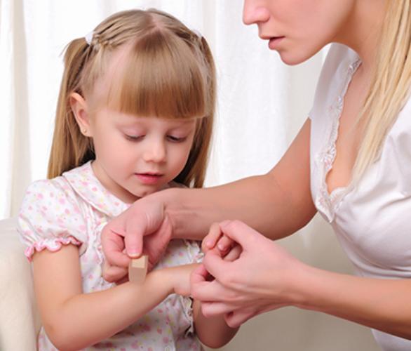 Dětské úrazy v domácnosti