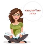 Ilustrace - žena čte