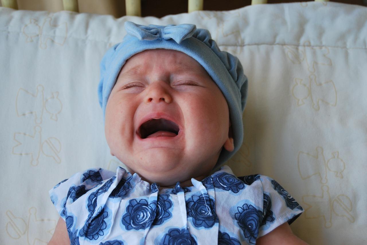 Když vaše miminko bolí bříško